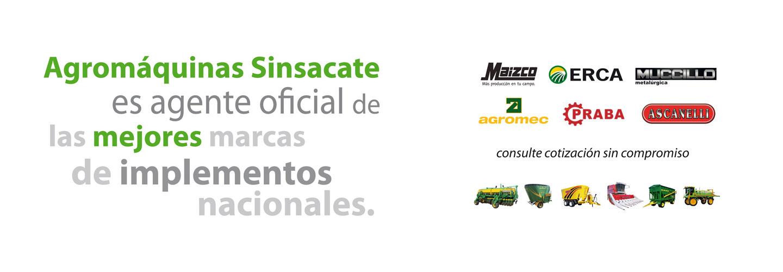 Sucursal Online de Agromaquinas Sinsacate en Agrofy